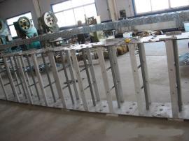 非开挖水平定向钻机钢制拖链 铺管钻机专用框架线缆钢制拖链