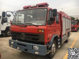 装水5吨的东风145水罐消防车