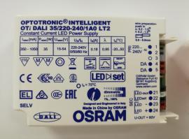欧司朗dali调光驱动OTI DALI 35/220-240/1A0 LT2