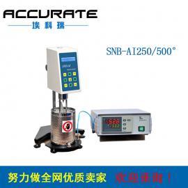 高温粘度计AKR/SNB-A+500 热熔胶粘度仪 高温沥青粘稠度检测仪