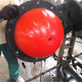 水上环保材质PE浮球 电闸口连接浮漂