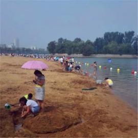 万人摊海边警示浮漂 防止游客过线浮球