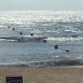 带拉环出口塑胶浮球 深海养殖浮球