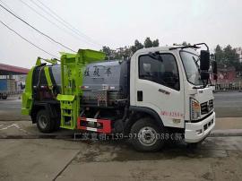 新款东风4吨餐厨垃圾车/泔水车/厨余垃圾车