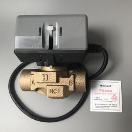 Honeywell霍尼韦尔VN6013电动二通阀温控阀4分6分风机盘管阀