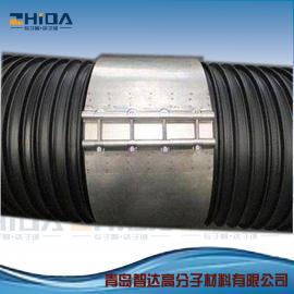 塑钢缠绕管专用不锈钢卡箍不锈钢密封连接件天智达