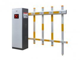 栅栏道闸停车场出入口智能设备 铝合金栅栏道闸厂商直供