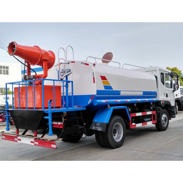 多功能抑尘车生产厂|7-8立方喷雾降尘车
