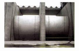 热喷锌钢制闸板 超耐用 寿命长的钢制平板闸门