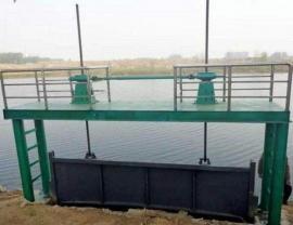 大型钢制闸板 水电站大型钢制闸门10米8米