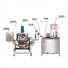 盛隆全自动彩色不锈钢操作简单花生豆腐机器设备