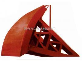 弧形钢闸门使用寿命长,可按需定制各种规格弧形钢闸门