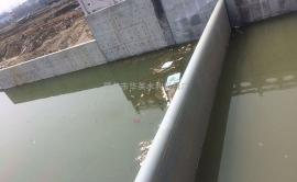 液压翻板闸门 水力自控翻板闸门 液压坝
