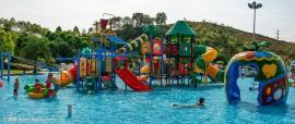 适合各种大中小水上乐园 儿童水上乐园 多彩滑道 大喇叭设备