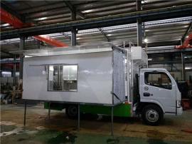 大型流动烧烤餐饮售货车厢式专用车