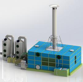 生物滤池除臭设备 玻璃钢材质生物滤池除臭装置