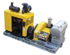马哈M 100/300 D 柴油引擎驱动超高压清洗机