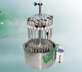 圆形不锈钢水浴温度可调节并可以控制LB-W-24 水浴氮吹仪