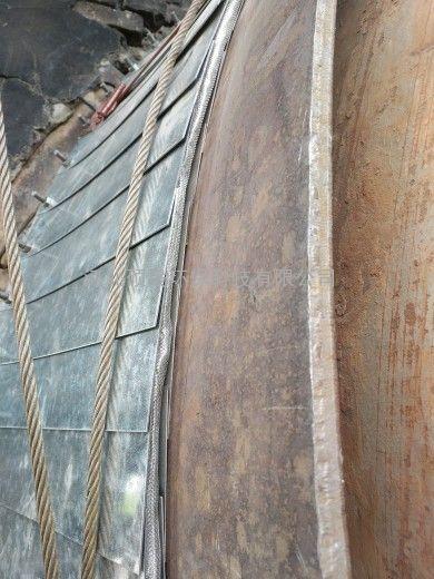 石灰窑回转窑密封研发新技术 水泥窑窑头窑尾密封可定做尺寸
