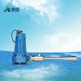 博源0.75KW/1.5kw/2.2kw深水自吸射流曝气机