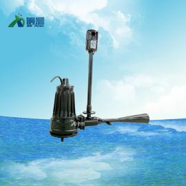 污水处理蓄水池增氧射流曝气机