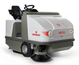 意大利COMOC高美CS 110 D 柴油引擎驱动驾驶式无尘清�哕�