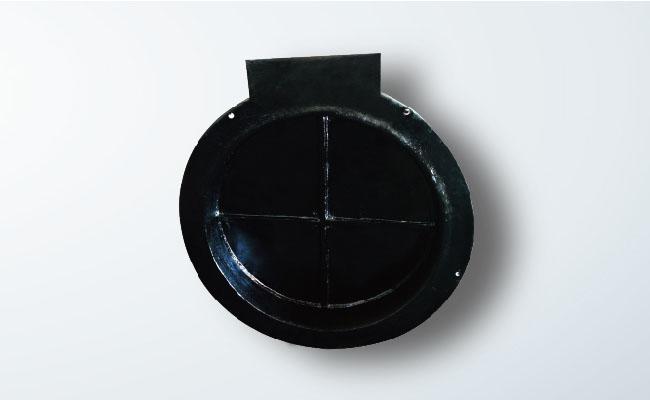 pm型铸铁拍门 方形铸铁拍门 铸铁圆拍门