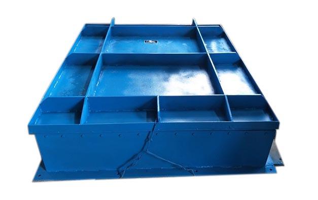 钢制方拍门 各种规格钢制方拍门 铸铁拍门就选华英水利