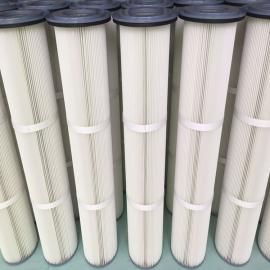 法兰吊装式覆膜除尘滤筒250*1000