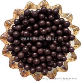 挂釉陶瓷球/蓄热理疗球/黑釉球6-7mm/外贸填充功能热敷球现货
