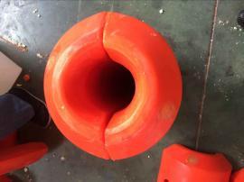 内河抽沙船配套管线浮筒 8英寸管径浮漂