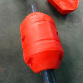水上塑料12寸管浮使用 挖沙船塑料浮体