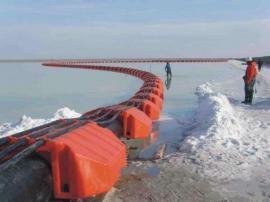 海边工程吸沙管道浮筒 高分子两半片浮体