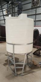 圆形排污加厚尖底水箱放架子水箱锥底水箱 举报