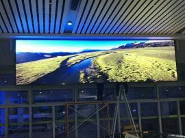 宴会厅装p4LED显示屏效果还能保持这么清晰