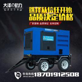 静音双焊位500A柴油发电电焊机