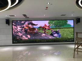 展厅安装p3全彩led电子屏效果以及价/格是多少钱一平方米