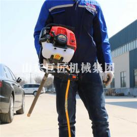热卖20米单人背包钻机BXZ-1便携式地质勘探钻机巨匠直销