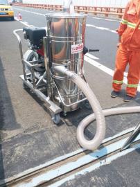 威德尔汽油机吸尘器QY-75J马路保养施工吸石子泥土