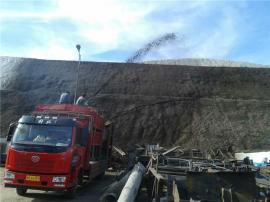 生态治理矿山修复绿化草籽喷播机