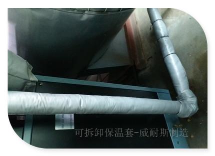 管道软保温夹套|耐高温|防水防油污