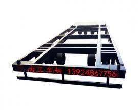 20T框架型集装箱专用平板拖车