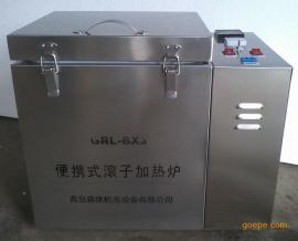 便携式滚子加热炉GRL-BX3三轴两个高温老化罐陈化釜