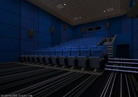 电影院专用黑色阻燃岩棉玻纤吸音板