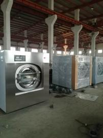 酒店宾馆床单洗涤设备 布草洗衣机操作流程