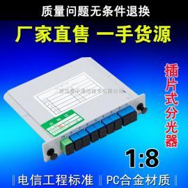 PLC插片式/插卡式光分路器