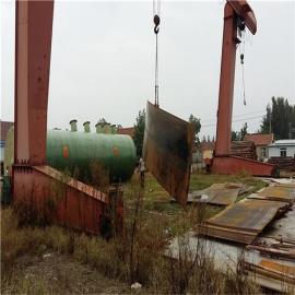 15立方米每天地埋式一体化污水处理装置