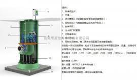 专业 玻璃钢一体化预制泵 交钥匙工程