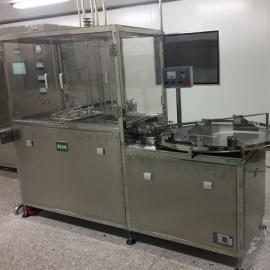 制药用50-100ml全自动超声波口服液洗瓶机
