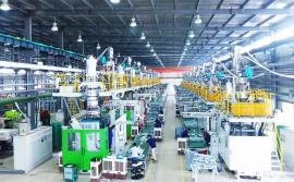 机油壶生产设备双层复合液位线机油壶吹塑机食品包装桶生产机器